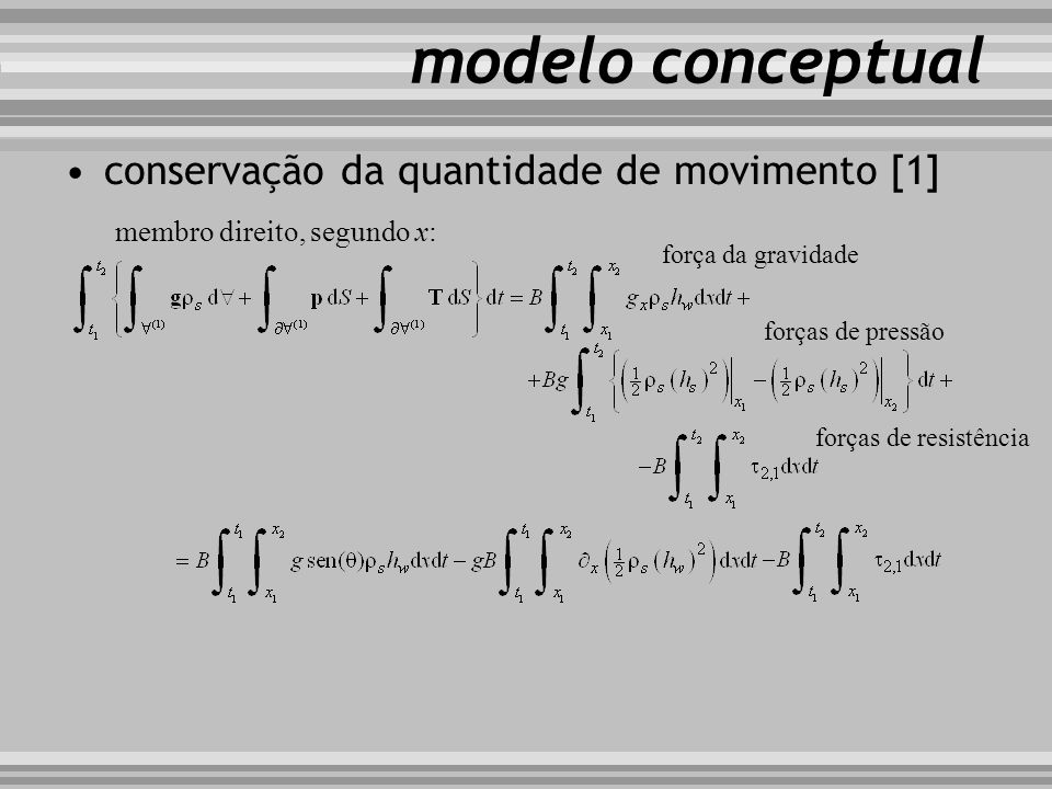 modelo conceptual conservação da quantidade de movimento [1]